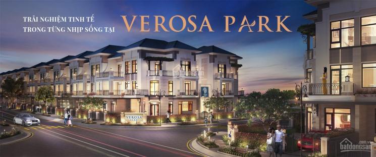 Nhà phố Verosa Park Quận 9, chiết khấu 18%, lãi suất 0%, tặng gói nội thất 500 triệu