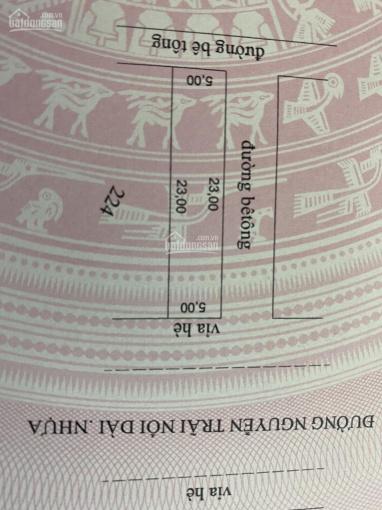 Bán lô đất Nguyễn Trãi nối dài,  lô gốc vị trí đẹp, hướng đông,  033 864 6868.