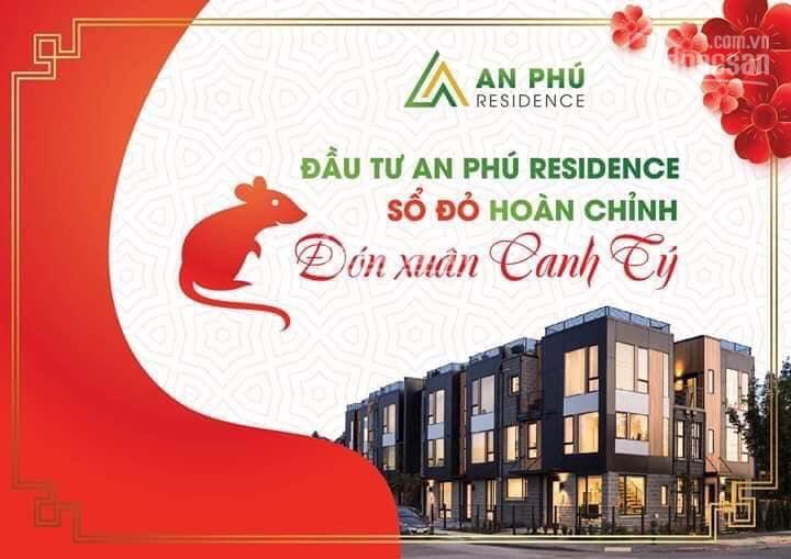 Bán đất KDC An Phú Residence Thuận An, đường nhựa 19m, SHR, giá 1,8 tỷ, có thương lượng