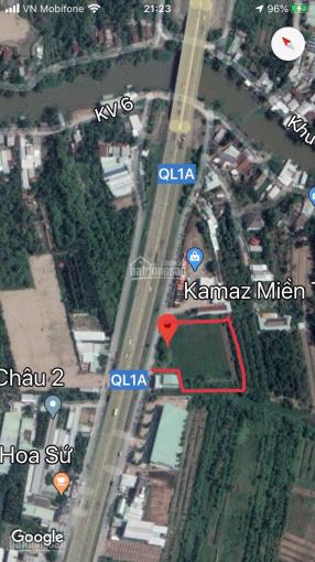 Bán 4919m2 đất đẹp mặt tiền Quốc Lộ 1A, Q. Cái Răng đối diện ĐH Tây Đô giá rẻ đầu tư LH 0909491373