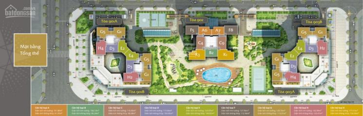 Chính chủ bán căn hộ cao cấp 110m2 ở Starlake Tây Hồ Tây, bàn giao tháng 10/2020