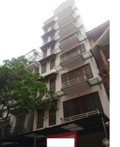Cho thuê tòa nhà văn phòng siêu rẻ đẹp ở Phạm hùng 120m2 x 7 tầng làm VP, trung tâm dạy tiếng