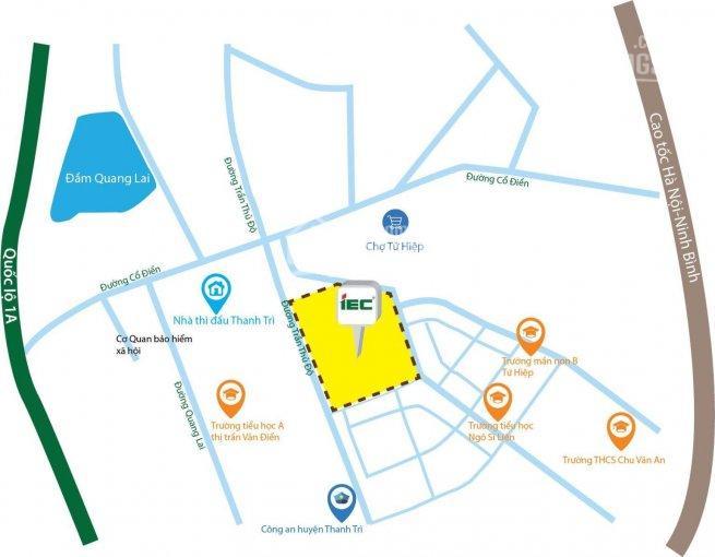 Suất ngoại giao kiot, shophouse dự án IEC Tứ Hiệp Thanh Trì cơ hội đầu tư hấp dẫn. LH 0979772332