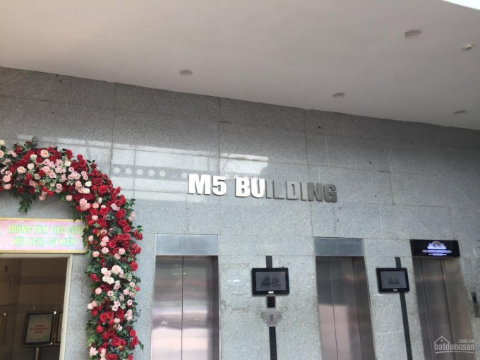 Cho thuê VP tòa nhà M5, Nguyễn Chí Thanh Láng Hạ, Đống Đa, 56m2 - 110m2 - 200m2 giá 348 nghìn/m2/th