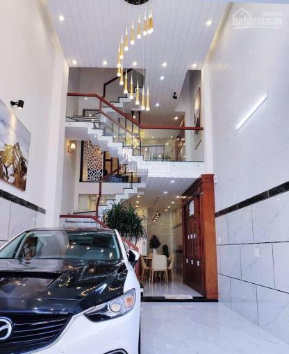 Bán 2 căn nhà phố liền kề mặt tiền nội bộ 12m An Dương Vương, KDC Luxhomes Garden, 5 tầng 8PN