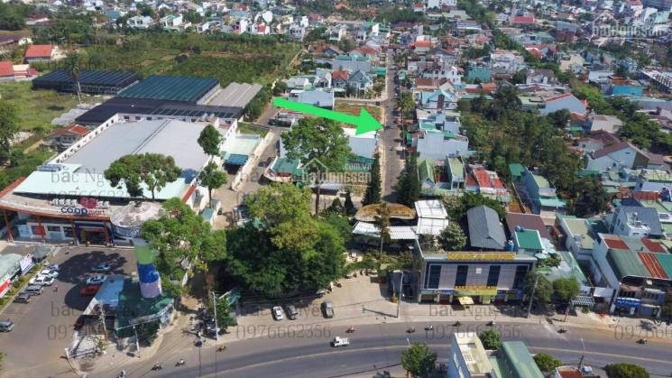 Bán đất mặt tiền Nguyễn Thái Bình, phường 2 sau siêu thị Coopmart, cafe Đôi Dép Tp Bảo Lộc