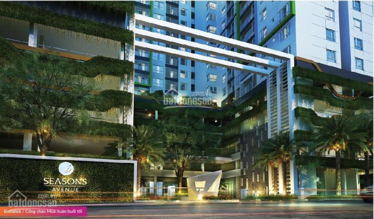 Bán căn góc 3 phòng ngủ, DT 105m2, chung cư Seasons Avenue, 3.1 tỷ, full đồ đẹp