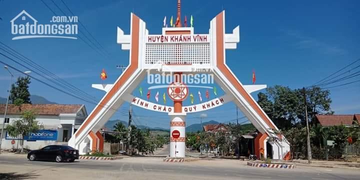 Chính chủ bán 2 lô đất gần TT thị trấn Khánh Vĩnh, mặt tiền Tỉnh Lộ 2, sổ đỏ thổ cư rẻ nhất KV