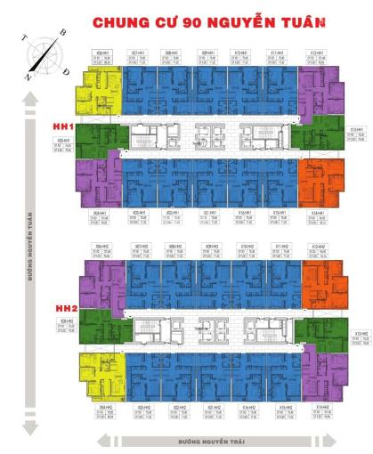 PKD SD7 quỹ căn 3 PN 88, 92, 96m2 giá chỉ từ 30.5tr/m2, nhận nhà ở ngay, có sổ đỏ, 0975.608.592