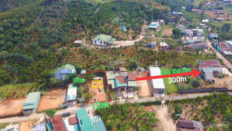 Bán đất thổ cư mặt tiền Phan Huy Ích cách chợ Đại Lào 300m Ql20 ra chợ Đại Lào 3 phút đi bộ di