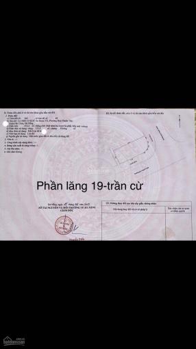 Bán đất 2MT Phần Lăng 19 - Trần Cừ, Quận Thanh Khê ảnh 0