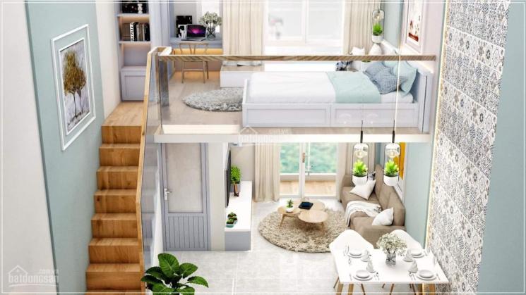 Căn hộ chung cư Gò Dầu Tân Phú, giá dưới 1 tỷ full nội thất thiết kế kiểu duplex, hỗ trợ vay 50%