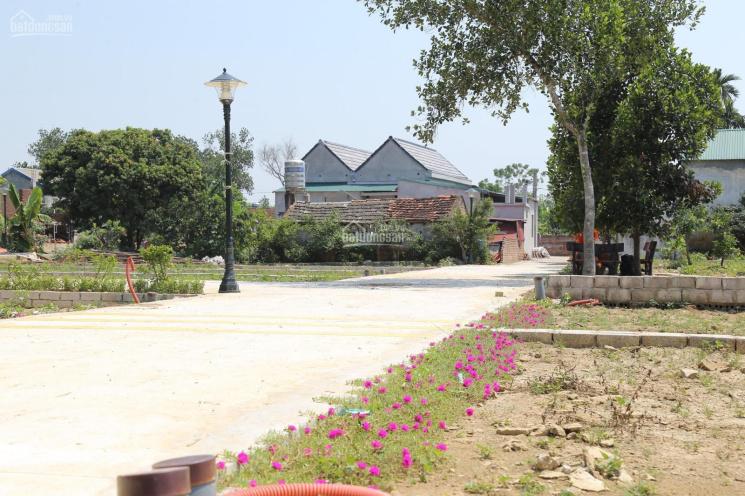 Chính chủ bán lô đất full thổ cư Tân Xã, Thạch Thất giá chưa tới 600 triệu, cách công nghệ cao 800m