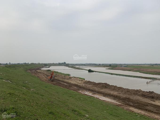 Bán lô vip mặt sông, dãy E - giai đoạn 1, dự án Đô thị sinh thái Cẩm Đình - Hiệp Thuận