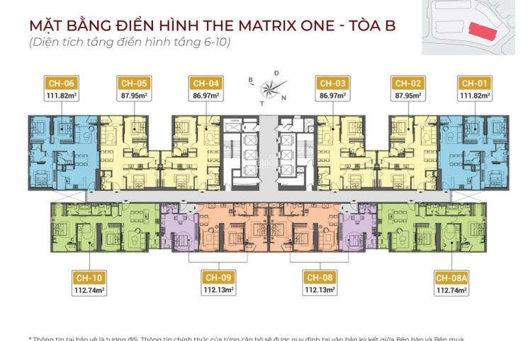 The Matrix One - MIK Mễ Trì - MIK Group, phân phối bảng hàng trực tiếp CĐT. LH 0982 416 892