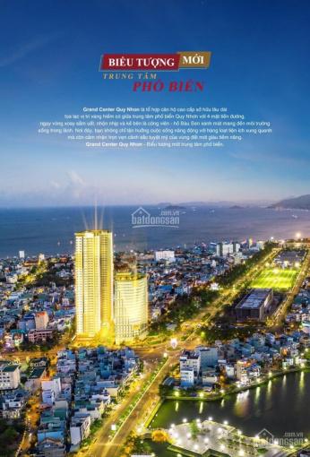 Sở hữu căn hộ số 1 khu đất vàng Trung tâm TP Quy Nhơn Grand Center chỉ 1,8tỷ/căn 0968687800 CK 5%