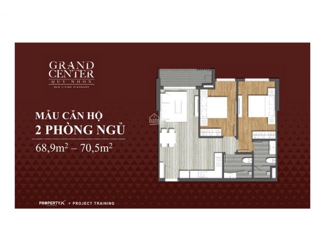 Sở hữu căn hộ số 1 khu đất vàng trung tâm thành phố Quy Nhơn chỉ 1,8tỷ/căn, LH 0905989938 CK 2-18%