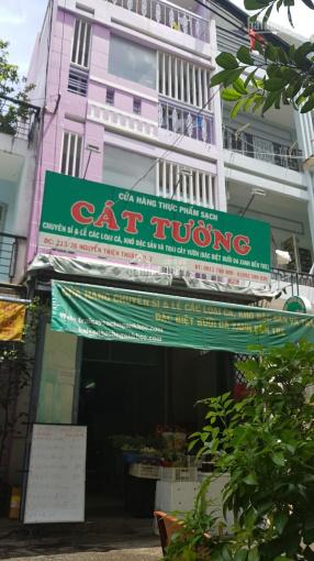 Nhà bán mặt tiền đường Huỳnh Tịnh Của, P. 8, quận 3, Dt: 4.3x12m, giá: 13.5 tỷ, TL
