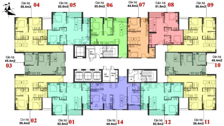 Bán căn hộ chung cư Mipec City View, Kiến Hưng, Hà Đông
