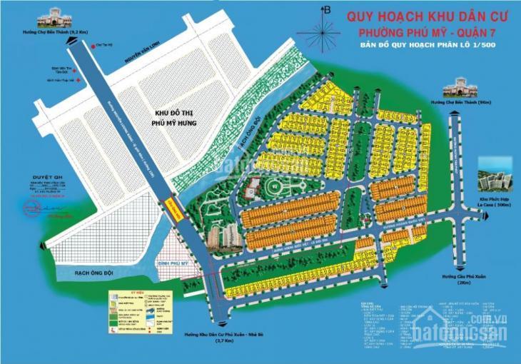 Cần bán nhà phố KDC Phú Mỹ - Vạn Phát Hưng đường 16m, 13 tỷ, 0914.839.086