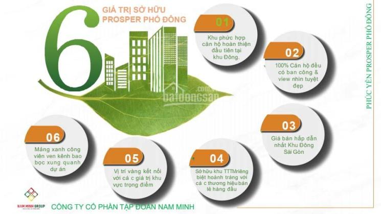 Căn hộ 2PN 53m2 - Prosper Tô Ngọc Vân - Thủ Đức - thanh toán 4% linh hoạt - Vietinbank bảo lãnh ảnh 0