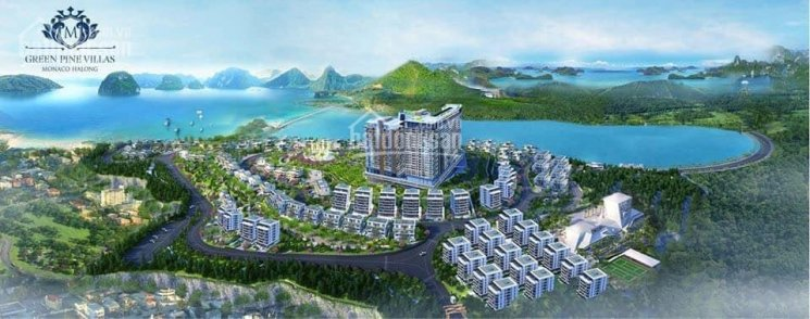 Biệt thự Monaco Hạ Long, sánh vai kỳ quan nâng tầm đẳng cấp, giá chỉ 23tr/m2. LH 0963031037