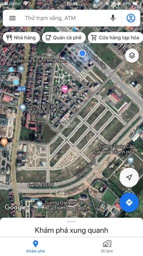 Bán đất đường CSEDP bên cạnh Đại học Văn Hóa Thể Thao và Du Lịch, đường đôi 39m, giá chỉ từ 16.5tr