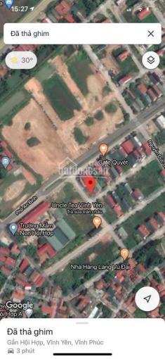 Bán đất 2 mặt tiền siêu kinh doanh khu Cầu Ngã - Hội Hợp - Vĩnh Yên - LH: 0962.115.839