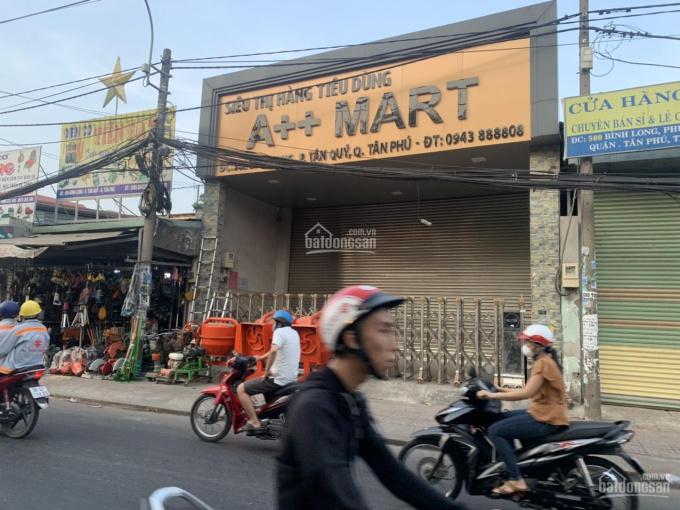 Bán mặt tiền kinh doanh đường Bình Long, Q Tân Phú vị trí đẹp, DT 8m x 43m nở hậu 8.4m. Tổng 348m2 ảnh 0