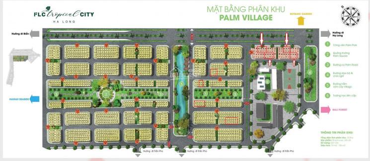 Shophouse giai đoạn 1 giá tốt FLC Tropical City HL, pháp lý đầy đủ 13 - 15tr/m2 đất. LH 0969162476