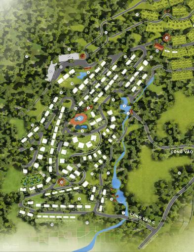 Đất nền, khu nghỉ dưỡng biệt thự liền kề dự án Osnen Villas & Resort Hòa Bình