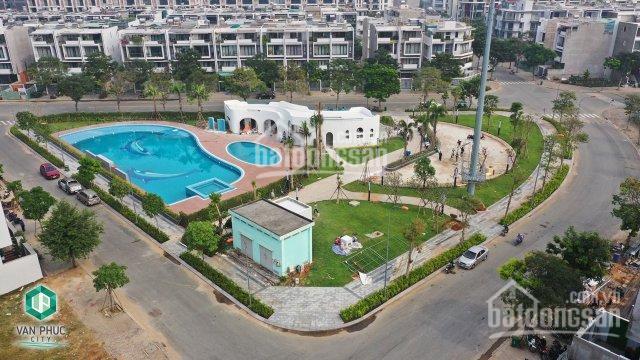 Bán đất trong khu đô thị Vạn Phúc đã hình thành 72tr/m2, LK Bình Thạnh thông tin chính thống từ PKD