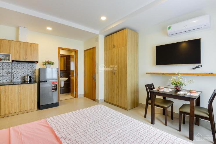 Cho thuê căn hộ mini full nội thất, an ninh, thoáng mát, free xe, wifi, giặt sấy. View sông