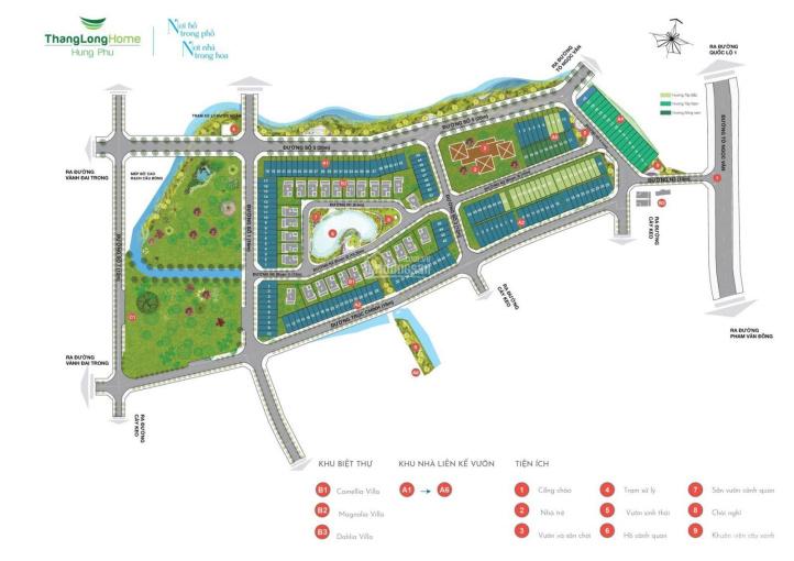 Bán biệt thự dự án Thang Long Home - mặt tiền đường Tô Ngọc Vân - Thủ Đức ảnh 0