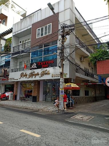 Bán nhà mặt tiền đường Nguyễn Thông, Q. 3, DT: 8x24m, 4 lầu, 55 tỷ TL. Ngay góc Lý Chính Thắng