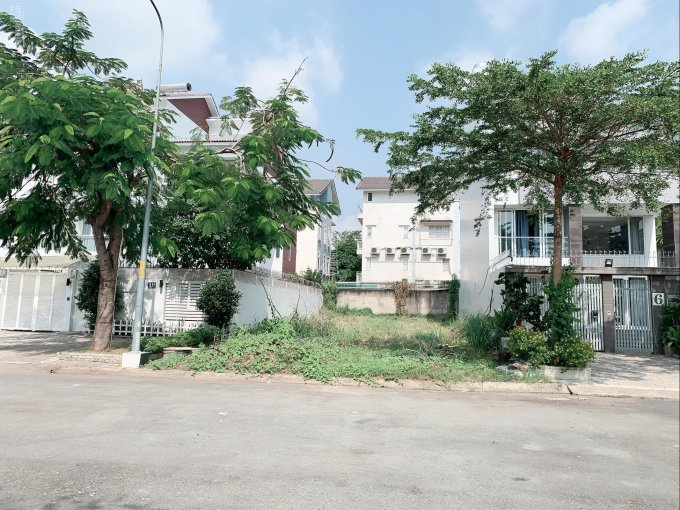 Còn 1 lô đất biệt thự Phú Mỹ VPH LK PMH, DT 10,5x21m, Nam, giá 108tr/m2, XD hầm trệt lửng 2 lầu ảnh 0