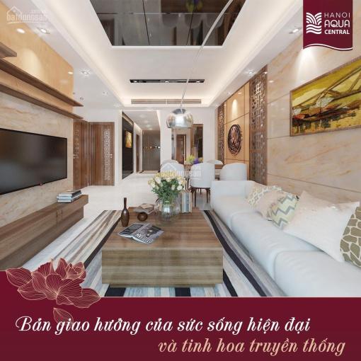 Anh em cần bán căn hộ 120m2 - Hanoi Aqua Central 44 Yên Phụ - liên hệ: 091.55555.83