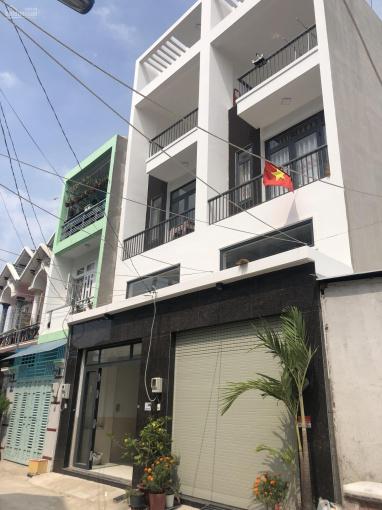 Nhà 3 tấm mới xây dựng đường Thạnh Lộc 15, ngay chung cư Thạnh Lộc, Ngã Tư Ga ảnh 0