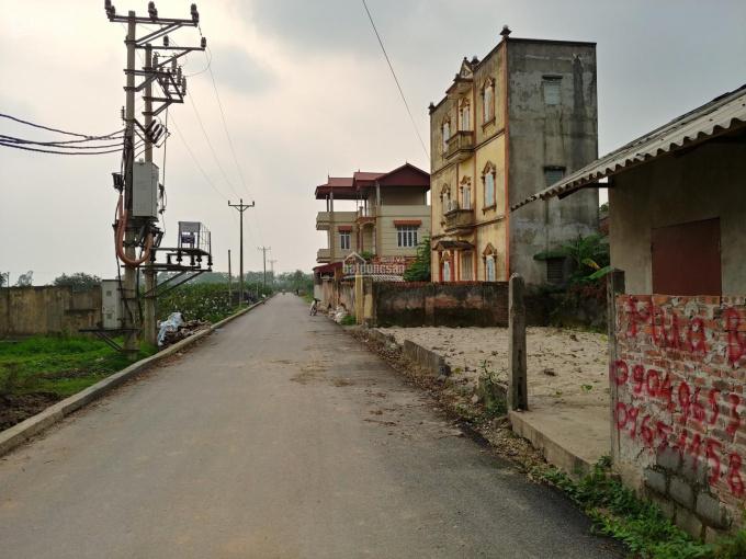 170m2 Tam Kỳ, Nghĩa Trụ, MT 21m. Trục chính kết nối thẳng 24 tòa chung cư VinCity Hưng Yên