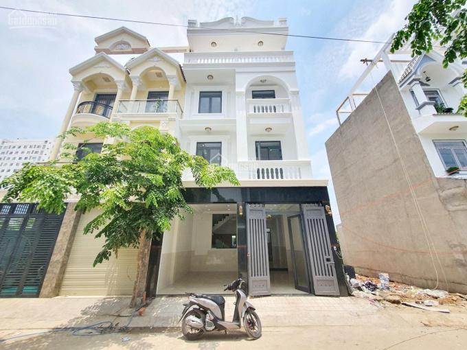 Bán nhà phố biệt lập khu dân cư Anh Tuấn - Huỳnh Tấn Phát, 6,45mx13m, 6,4tỷ ảnh 0