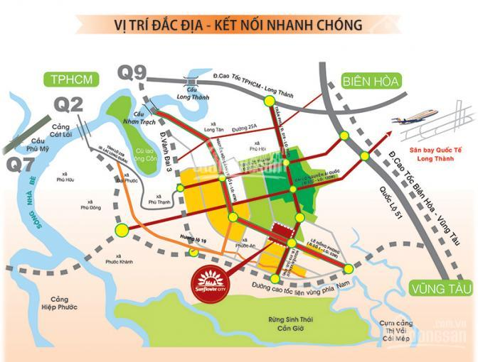 Kẹt tiền kinh doanh bán gấp lô đất 90m2, sổ hồng, thổ cư, 700 triệu, khu đô thị Phước An, Nhơn Trac