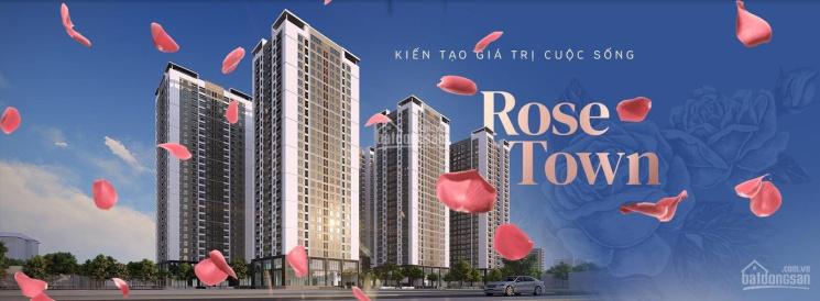 Mở bán chung cư Rose Town Ngọc Hồi, giá siêu tốt