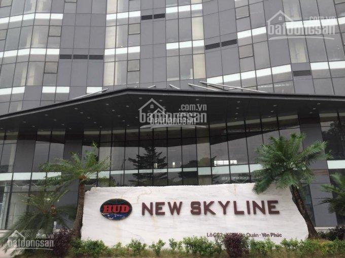 CĐT cho thuê mặt bằng văn phòng New Skyline, Hà Đông. S từ 30m2