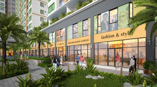 Bán shop Vinhome Central Park 150m2 mặt tiền đường chính đang cho thuê 186 triệu/tháng 0977771***