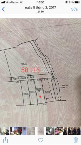 58m2 đất mà có 1,55 tỷ tại Thạch Bàn