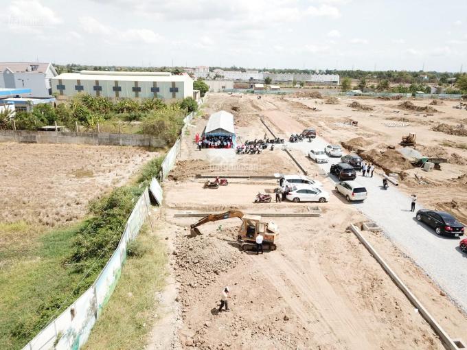Có lô đất ngay xã Tân Lân - Cần Đước, vị trí thích hợp đầu tư với giá 700 triệu gần Cảng Phước Đông