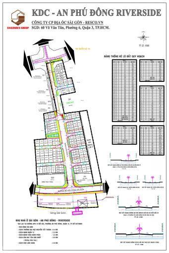Chính chủ - cần bán lô đất trong KDC An Phú Đông, MT An Phú Đông 13, Quận 12. DT 100m2 - TT 1.8 tỷ