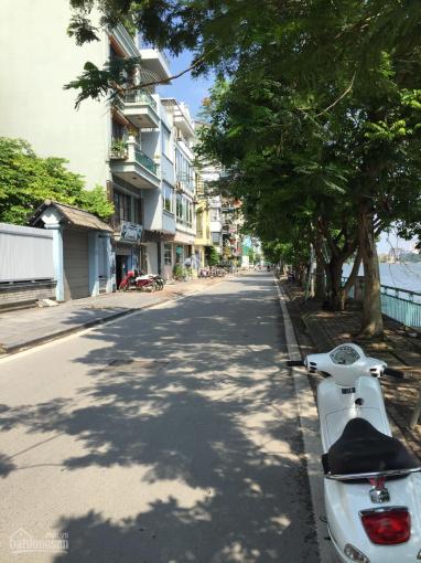 Bán biệt thự 5 tầng mặt Hồ Tây, phố Nguyễn Đình Thi chỉ có một căn duy nhất, 9m mặt tiền - 180m2