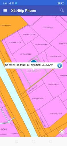 Bán đất thị trấn Hiệp Phước, Nhơn Trạch, Đồng Nai, 51x54m, giá chỉ 4 triệu/m2, giá rẻ, 0932647689 ảnh 0