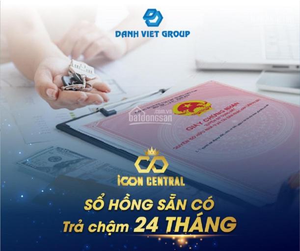 ICON CENTRAL Phú Hồng Thịnh Bán 10 nền view công viên A1-32, B2-40, B7-28 giảm tới 3%.LH:0913057579